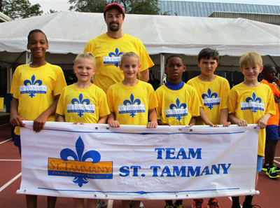 Team St. Tammany Places Sixth at State Elementary Fitness Meet